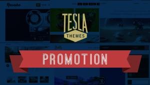 Zniżka na motywy WordPress od Tesla Themes