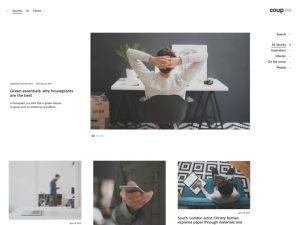 Darmowy motyw WordPress - coup Lite - Styczeń 2018